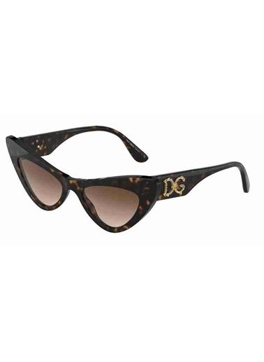 Dolce&Gabbana Dolce & Gabbana 4368 502/13 52 Ekartman Kadın Güneş Gözlüğü Kahve